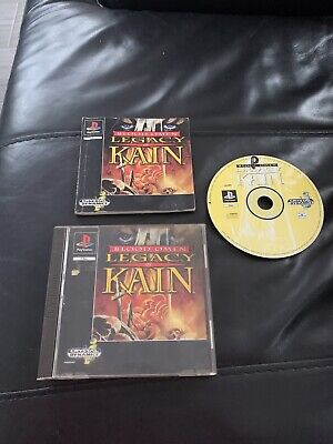 Ps1 Game Blood Oman Legacy Of Kain