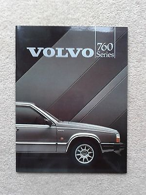 Volvo 760 Saloon GLE Turbo TD 83/84 Original UK Sales Bro Pub. No439-84 Pristine