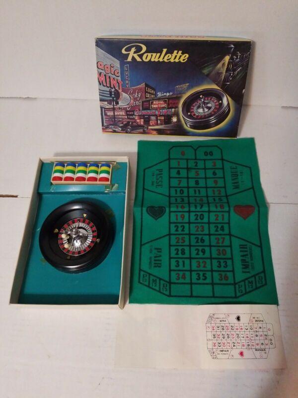 Vintage American Roulette Game Las Vegas Style Game Japan