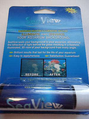 Seaview Mounting and Illumination Solution for Aquarium Background - 1 oz