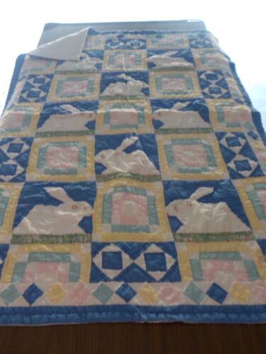 Bunny Rabbit Quilt by American Pacific