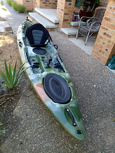 Kayak- one person fishing sit on top Nicholls Gungahlin Area Preview