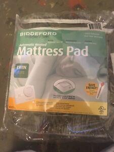 Auto Heated mattress pad
