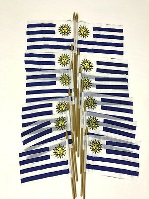 Small Country Flags (12 Uruguay Small 4