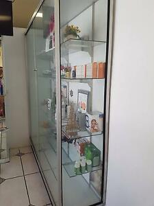 Beauty glass cabinet with lock Bankstown Bankstown Area Preview