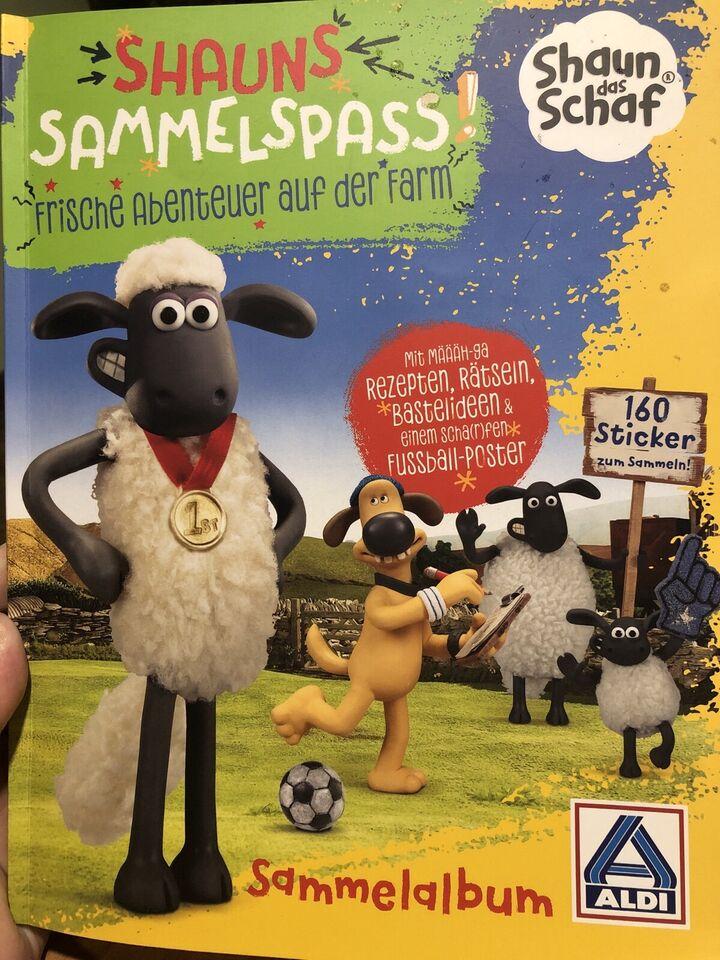 Shaun das Schaf - Sammelsticker in Tornau