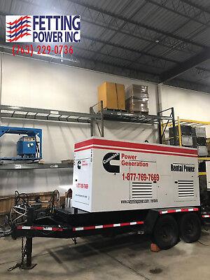 125kw Cummins Mobile Diesel Generator 125dgdk Sn G030526440