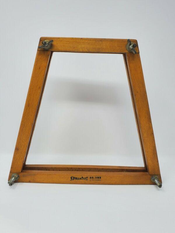 Spalding Wood Tennis Racket Press Frame 56-293