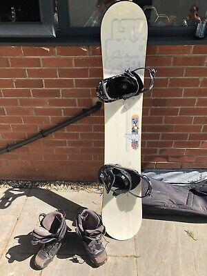 Salomon Prospect Ltd Edition Snowboard With Spx 45 Bindings