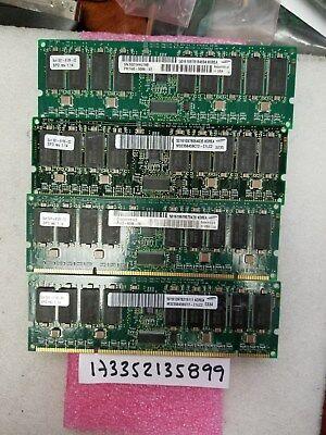 SUN MICRO 4GB KIT 4X 1GB 232p PC133  Registered ECC SDRAM DIMM X7056A  501-6109