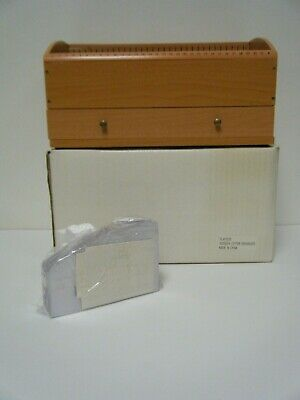 Vintage Wooden Letter 31-day Organizer Brand New In Open Box