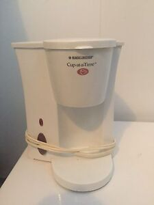 Single cup coffee maker