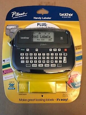 Brother P-touch Pt-45m Handheld Label Maker Labeler