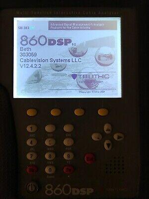 Trilithic 860 Dspi 1ghz Multi-function Cable Analyzer Catv Metertester 860dspi
