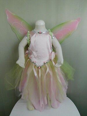 Ballerina Princess Fairy Girl's Halloween Dress-Up Costume 5-6 Medium - Girl Fairy Dress