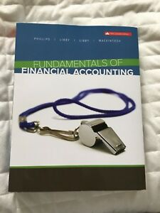 Fundamental of Financial accounting 5th Canadian Ed