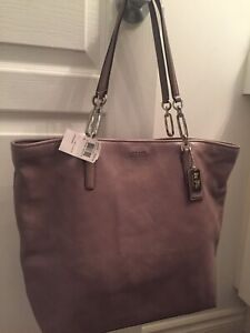 COACH LEATHER BAGS (2) - BRAND NEW, NEVER USED - AUTHENTIC