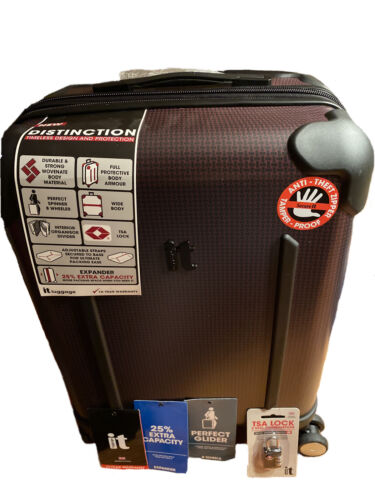 It Lugagge Suitcase With Tags And TSA Approved Lock - $75.00