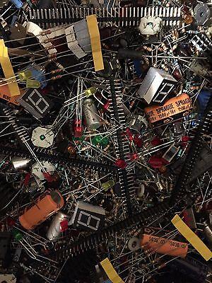 12 Lb Lot Large Electronics Parts Grab Bag New Diy Assortment No Pulls Newnos