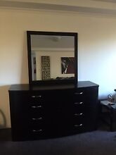 Dresser with mirror and 2 bedside table Kirribilli North Sydney Area Preview