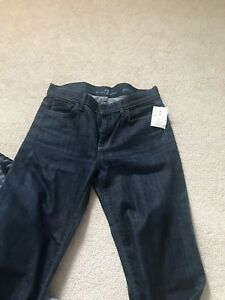 7 for all mankind ginger jeans size 27 bnwt