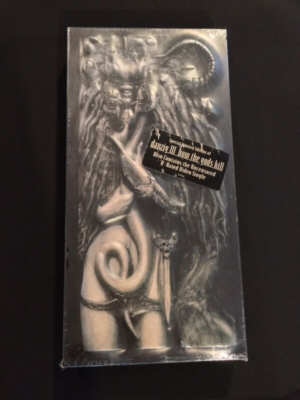 NEW Danzig III How The Gods Kill Special Limited Edition SEALED Giger Misfits
