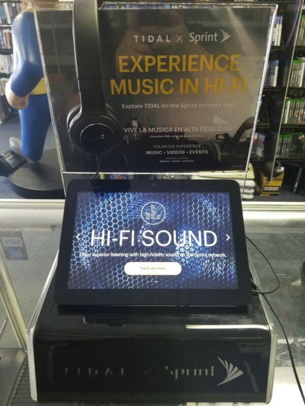 Tidal X Sprint Tablet Kiosk Store Display