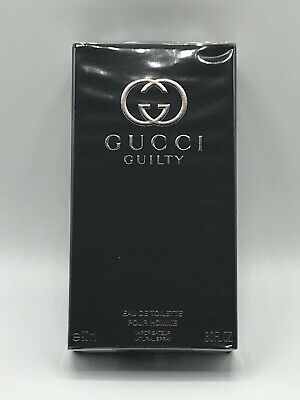 GUCCI GUILTY EDT POUR HOMME SPRAY 3.0 OZ / 90 ML NEW IN SEALED BOX