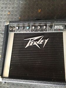 Peavey back stage guitar amp