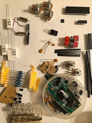 Electronic Components Box Packed Full