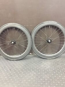Carbon Fixie 47 Single Speed Wheelset Bicycle Parts And