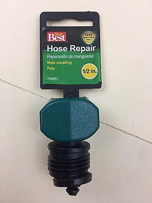 1 Best Garden Poly Hose End Mender Hose Repair Coupling 1/2