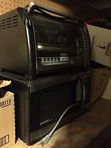 Moving sale, microwave 10, small oven 10,