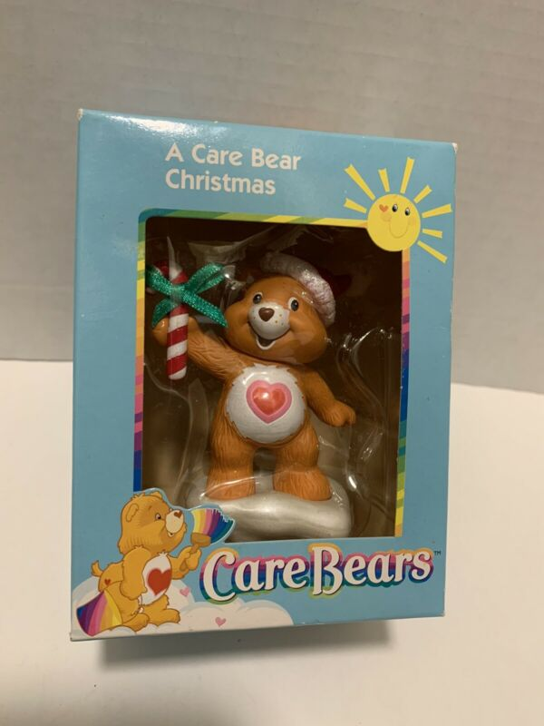 Care Bears Ornament 2003 American Greeting Tenderheart Bear with Candy Cane
