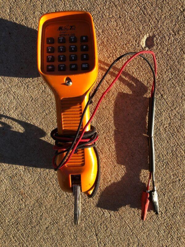 RARE VINTAGE - METRO TEL MT-811-DS LINESMAN PHONE TELEPHONE LINE EQUIPMENT