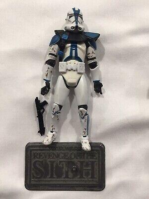 Star Wars COMMANDER APPO W/stand Saga Collection #064 501st Legion Clone Trooper