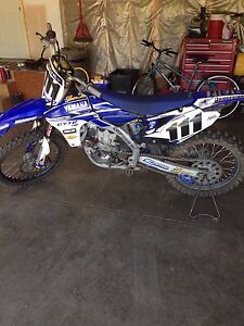 2010 YZF 450 with ownership Ready to go!