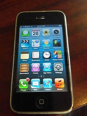 Apple iPhone 3GS - 32GB - black (Factory Unlocked) -- classic