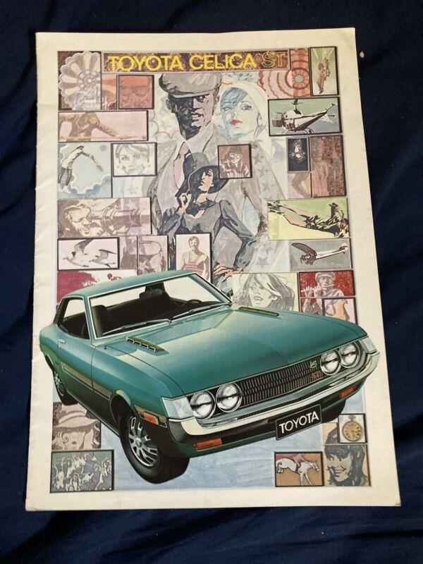 1971 Toyota Celica USA Market Color Sales Brochure Catalog Prospekt