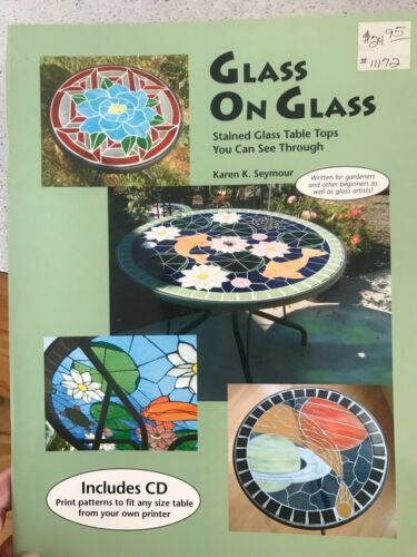 Glass On Glass Mosaic or Stained Glass Patterns Book