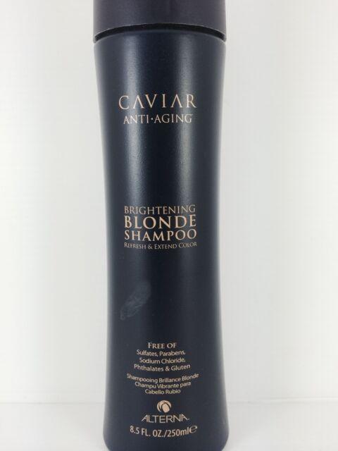 ALTERNA CAVIAR BRIGHTENING BLONDE SHAMPOO 250ml - Refreshes & Extends Color Life
