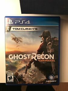 PS4 Tom Clancy - GHOST RECON wildlands