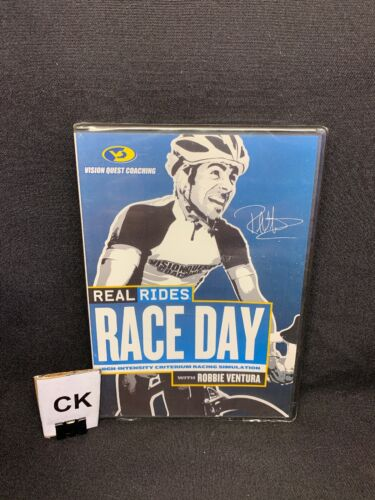 (CK) Race Day with Robbie Ventura Real Rides Bicycle Training DVD New Sealed (Brand New - 6.8 USD)