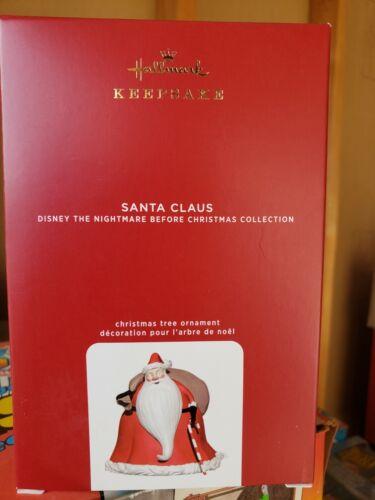 NIB 2020 Hallmark Ornament  Santa Claus Nightmare Before Christmas Magic L and S