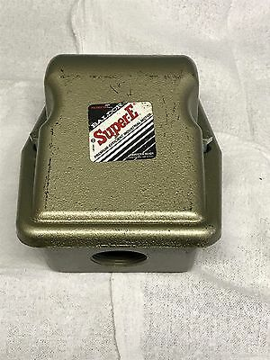 Baldor Cast Iron Electric Motor Terminal Conduit Box Wcover For 254-256fr