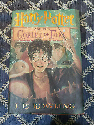 Harry Potter And The Goblet Of Fire First Print First Edition Hardcover Book