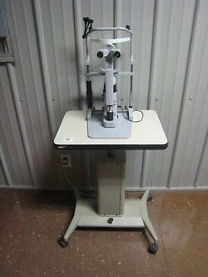Carl Zeiss Slit Lamp Model 10 Sl With Stand