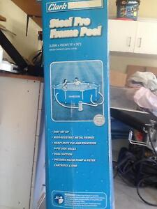 Pool 3m round frame pool from Clark rubber new never used Tanawha Maroochydore Area Preview