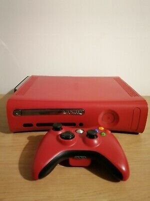 Xbox 360 Resident Evil Limited Edition Red RARE