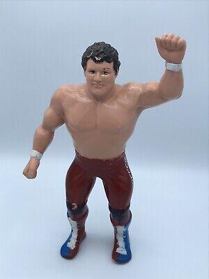 WWF British Bulldogs Davey Boy Smith Wrestling Figure, LJN 1986